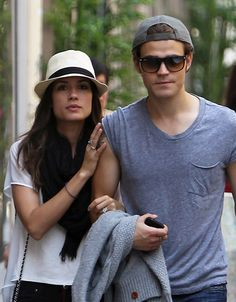 The Vampire Diaries' Paul Wesley and Torrey DeVitto