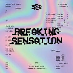 SF9 / BREAKING SENSATION (2ND MINI ALBUM) [SF9][CD] :韓国音楽専門ソウルライフレコード