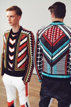michaelmodels:  leauxnoir:  BALMAIN s/s 2015  Boys & Fashion