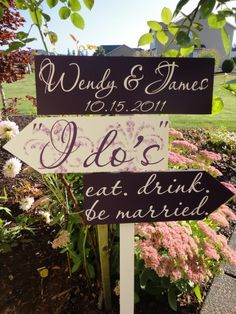 Wedding Sign by tommie