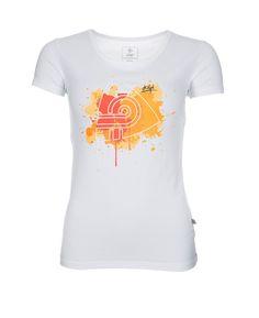 Women's T-shirt KILPI - MURAYA - white
