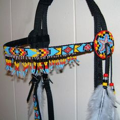 Hand Beaded Horse Bridle