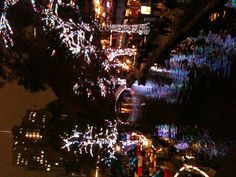 Christmas on the River Walk in San Antonio, TX
