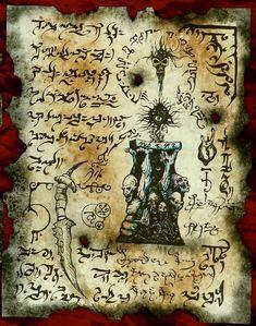 Este listado está para un conjunto de 3 fragmentos dedel Necronomicon como se muestra en la foto, estas son láminas para uso como un apoyo en cualquier tipo de juegos rpg o larp de fantasía o para enmarcar y colgar en la pared de su sanctum sanctorum. Las páginas del Necronomicon son