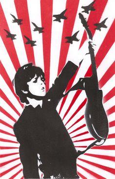 Billie Joe Armstrong - Stencil by theraineydaze on DeviantArt Great Bands, Cool Bands, Green Day Band, Billie Joe Armstrong, Art Courses, American Music Awards, Gcse Art, Wallpaper Backgrounds, Wallpapers