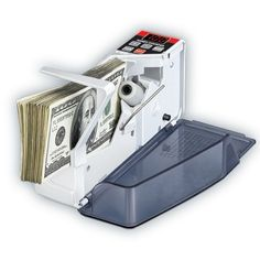 100.00$  Buy now - http://ali897.worldwells.pw/go.php?t=32377232491 - 1pcs V40 Mini Portable Handy Bill Cash Money All Currency Counter Counting Machine 100.00$
