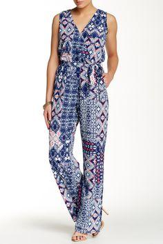 d6073b17ec43 Printed Surplice Jumpsuit by BE BOP on @nordstrom_rack Jumpsuit Dress,  Jumper, Jumpsuits,