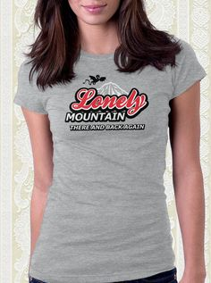 The Lonely Mountain T-Shirt – FishbiscuitDesigns