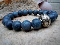 Natural Stone Alloy Bracelet with Gold Color Buddha or Skull Charm Gemstone Bracelets, Bracelets For Men, Jewelry Bracelets, Visualization Meditation, Mens Gadgets, Yoga Bracelet, Crystal Gifts, Yoga Jewelry, Chakra Healing