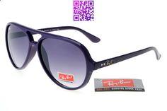 Ray-Ban Cat 6117 Black Purple Frame Gray Lens RB1224 [RB-1244] - $14.80 : Cheap Sunglasses,Cheap Sunglasses On sale
