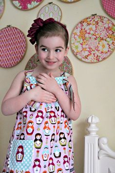 Easy Knot Dress Free Pattern and Tutorial - The Cottage Mama