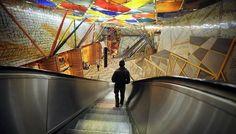 Metro de Lisboa chegou à marca dos 55 anos | Imagens de Marca imagensdemarca.sapo.pt600 × 343Pesquisar por imagens O site refere ainda que o Metro é o Museu mais visitado de Lisboa. De facto, as estações de metro ganharam novas cores e construções. estação de metro das Olaias, Lisboa