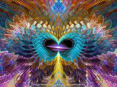 Andromeda, Original Artwork, Spiritual, Psy, Shamanic, Ayahusaca Art