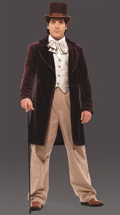 Dickens style Victorian gentleman outfit. Hat not included.