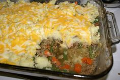 Shoot. Okay, so I caved and I made this Shepherd's pie using ground turkey because we had company over and I just knew that my girlfriend's husband would have soiled his freshly pressed True Religion...