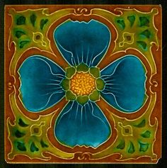 ART NOUVEAU tile by MARSDEN