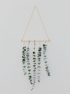 DIY Eucalyptus Wall Hanging - The Effortless Chic - A lifestyle blog bringing easy ideas for every day style to you, every day of the week!