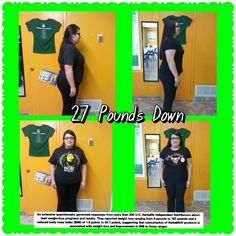 Ask me how I helped her get rid of 27 pounds!  For any questions  Accareaga@gmail.com   Or visit my site, create free account and browse our weight management programs!   Www.GoHerbalife.com/andreacareaga/en-US