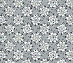 Blooming Monkeys fabric by sammyk on Spoonflower - custom fabric