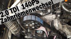 2.0 TDI Zahnriemenwechsel Skoda Superb BSS, BMM, BMP, AWX, AVF, AUY