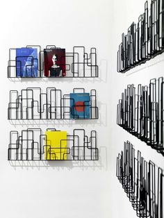 "magazine rack ""City Sunday"" by Minus Tio."