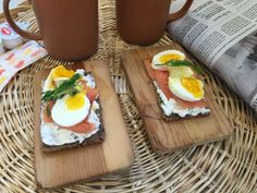 Open-Face Smoked Salmon and Egg Sandwich. More #breakfast food # ...