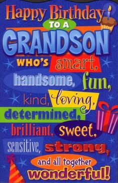 Happy Birthday Happy Birthday Wishes Happy Birthday Quotes Happy Birthday Messages From Birthday Grandson Birthday Quotes, Grandson Quotes, Birthday Wishes For Kids, Birthday Wishes Messages, Birthday Blessings, Birthday Wishes Quotes, Happy Birthday Pictures, Happy Birthday Sister, Happy Birthday Greetings