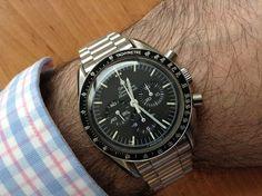 Omega Speedmaster Pro Circa 1980s #Omega #Speedmaster #Womw #Menswear #Watches #NASA #Moonwatch  - omegaforums.net