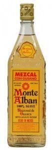 Mezcal Con Gusano Monte Alban. You gotta eat the worm!