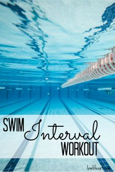 Interval training in the pool is a great way to give your body a break from your regular workouts and stress on your muscles. If you're a swimmer or triathlete, try this interval swimming workout.