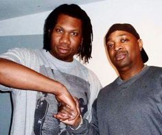 KRS ONE AND Chuck D