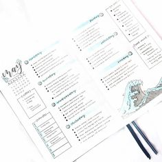 """if you are looking for gorgeous ocean bullet journal layout inspiration you are coming to the right place! We have collected over 50 gorgeous ocean bullet journal spreads, including a """"how-to"""" video and. Bullet Journal Planner, Bullet Journal Student, Creating A Bullet Journal, Bullet Journal Lettering Ideas, Bullet Journal Notebook, Bullet Journal Aesthetic, Bullet Journal Themes, Bullet Journal Layout, Bullet Journal Inspiration"""