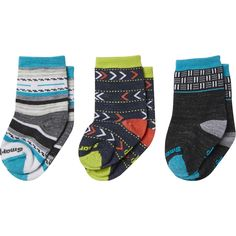Smartwool Toddler Trio Sock - 3-Pack - Toddlers