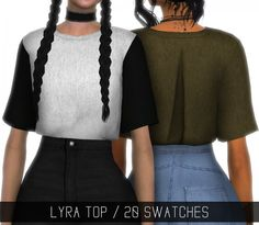 Simpliciaty: Lyra top • Sims 4 Downloads