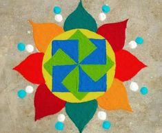 Get the best rangoli designs for competition in here. rangoli designs are a bit tricky but can be mastered with lots of practice and patience. Easy Rangoli Designs Diwali, Rangoli Simple, Indian Rangoli Designs, Rangoli Photos, Simple Rangoli Designs Images, Rangoli Designs Latest, Rangoli Designs Flower, Rangoli Colours, Free Hand Rangoli Design