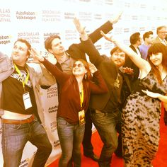 THE BOUNCEBACK's Director, Producers, Co-writer, and star Megan Gilbride going H.A.M on the red carpet.
