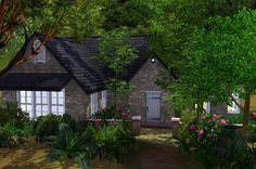 Bella+and+Edward+Cullen+at+their+cottage | Cottage Edward Bella Breaking Dawn Part 2