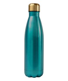 Turquoise 16-Oz. Stainless Steel Water Bottle