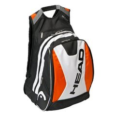 HEAD Racquetball Backpack Bag by HEAD.  59.94. The Racquetball Backpack has  adjustable shoulder straps and carrying handle. 98bac7816629e