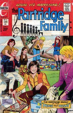 The Partridge Family (1970-74, ABC) — 1971 comic book
