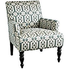 A new offering at Pier One for Spring 2012.  There's a comparable upholstered piece in Ballard Design for a much higher price point.