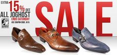 Jo Ghost Men's Shoes 15% off SALE! Use Coupon Code: JG15