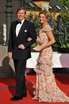 Prinses Maxima en kroonprins Willem Alexander