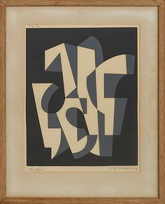 LARS-GUNNAR NORDSTRÖM, colour lithographe, signed and numbered 92/150. 35,5 x 28,5 cm.10786944 bukobject