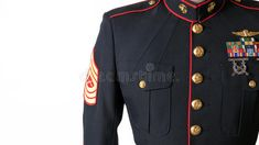 Photo about A United States Marine wears his dress blue uniform. Image of proud, marine, jarhead - 19370730 Usmc Dress Blues, Us Veterans, Military Service, Marine Corps, Blue Dresses, United States, The Unit, The Incredibles, Stock Photos