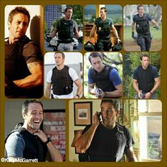 Alex O'Loughlin Kevlar creation by Kary McGarrett Jack Hughman, River Pictures, Three Rivers, Hawaii Five O, Alex O'loughlin, Best Actor, Favorite Tv Shows, Eye Candy, It Cast
