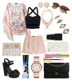"""""""Untitled #282"""" by angelicaaans ❤ liked on Polyvore featuring Etro, McQ by Alexander McQueen, Kendra Scott, Topshop, Chanel, Monica Vinader, NAVUCKO, Marc by Marc Jacobs, Giorgio Armani and Forever 21"""