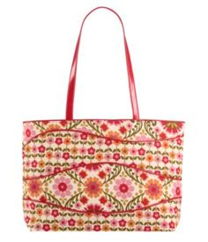 Great tote for Spring from Vera Bradley