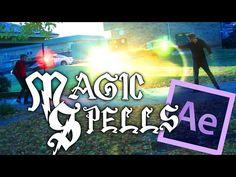 魔法素材 Harry Potter Magic Spells - After Effects Tutorial - YouTube