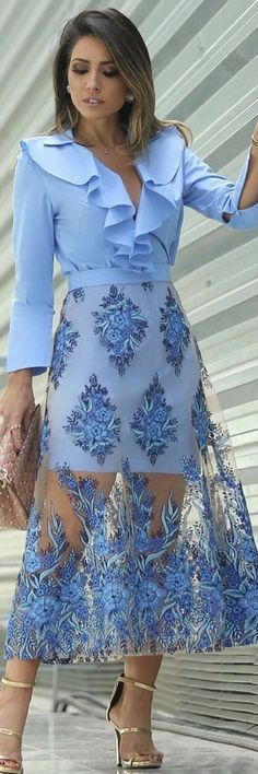 How to Wear: The Best Casual Outfit Ideas - Fashion Fashion Mode, Skirt Fashion, Fashion Dresses, Womens Fashion, Fashion Trends, Fashion Usa, Fashion Styles, Style Fashion, Dress Skirt